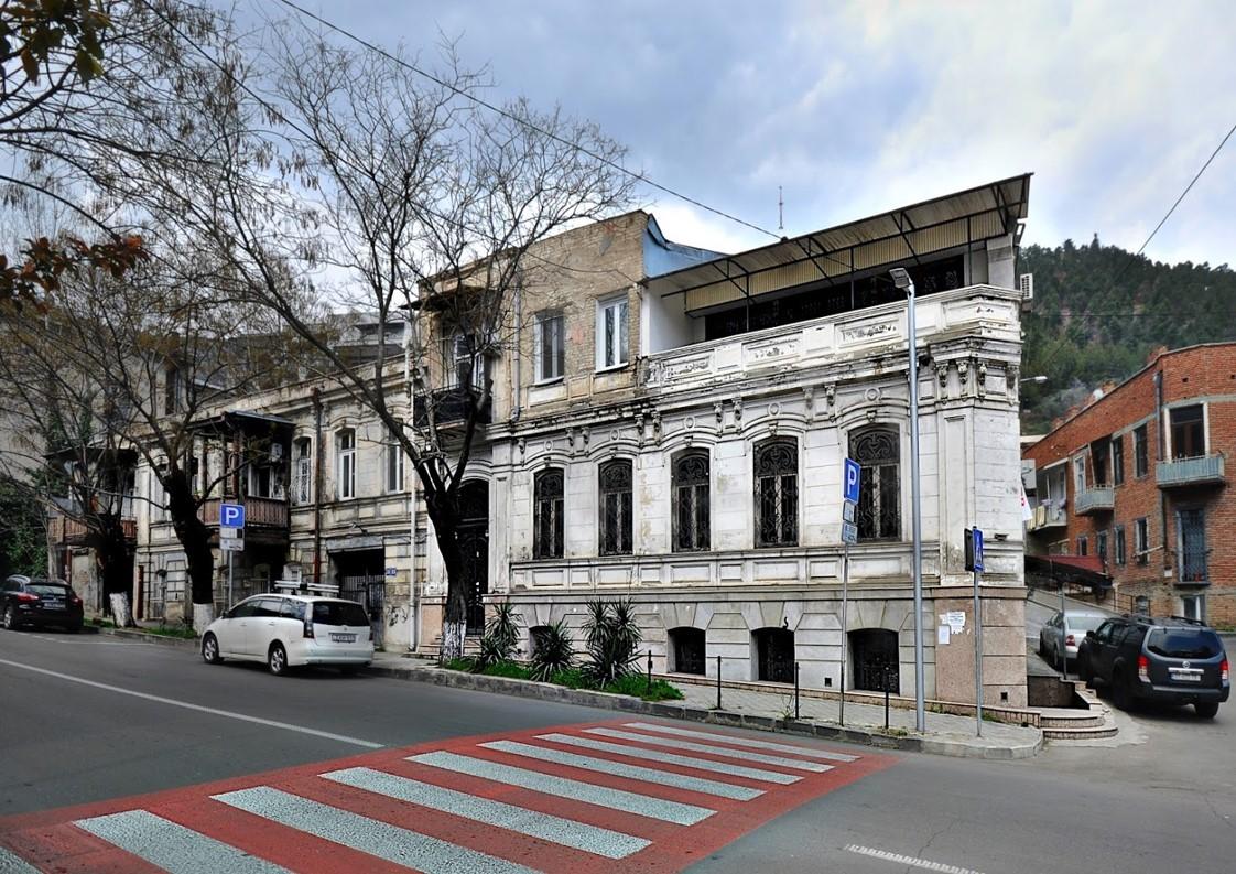 Century - Old Building on Amaghleba Street
